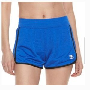 Fila Sport Blue Running Shorts Women Size M